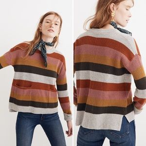 Madewell Pullover Sweater in Walton Stripe
